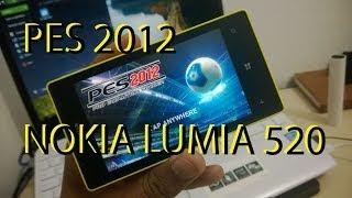 PES 2012 Pra 512 RAM Windows Phone 8 PORTUGUÊS