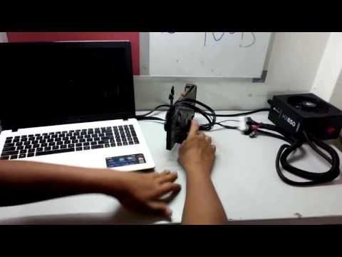 INSTALLATION PART 2 EXTERNAL GRAPHIC CARD FOR LAPTOP , EXP GDC , NP XGP , PE4C V3.0