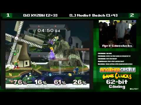 SSBM 2v2 XYZBW vs Nudist Beach April Gameclucks Grand Finals