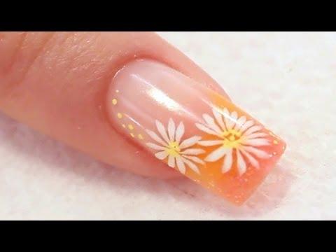 Rose Acrylic Nail Design Tutorial Video By Naio Nails Nail Designs