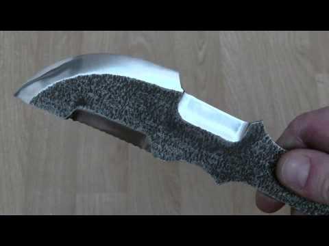 Нож видео из шины пилы