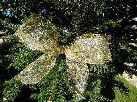 Decoração de Natal- Laço