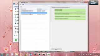 Visualizar Archivos Msgstore.db.crypt7 De WhatsApp En La