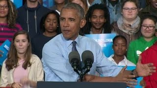 Obama slams GOP on Trump: You can't have it both ways