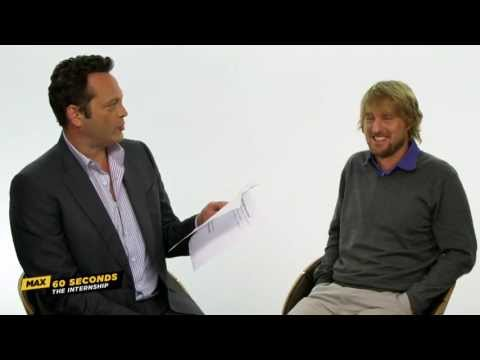 MAX 60 Seconds with Owen Wilson (The Internship)
