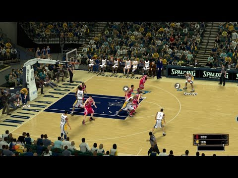 Indiana Pacers - Houston Rockets || NBA 2K13 #11 || Montes y Daimiel (español)