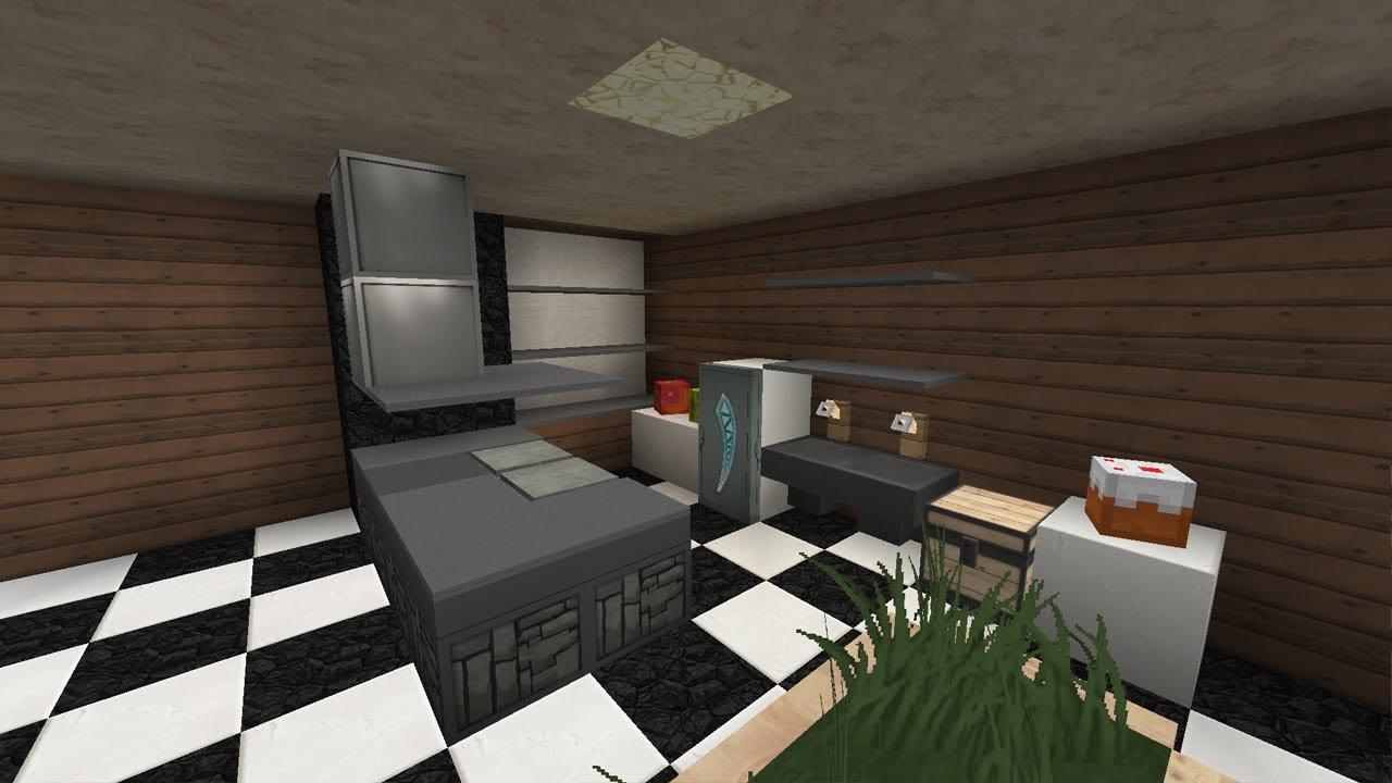 moderne k che design minecraft tutorial youtube. Black Bedroom Furniture Sets. Home Design Ideas