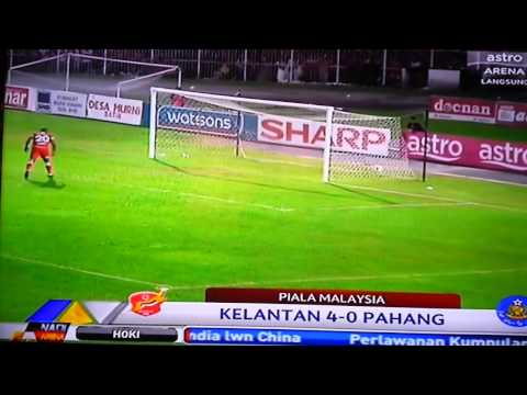 Kelantan 4-0 Pahang (Piala Malaysia 2013)