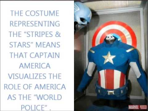 CAPTAIN AMERICA: AN ICONIC MANIFESTATION OF THE STARS AND STRIPES AND THE STARS SPANGLED BANNER
