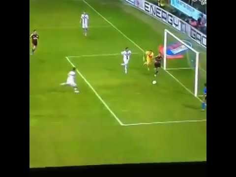 هدف بالكعب رائع من الدوري الايطالي