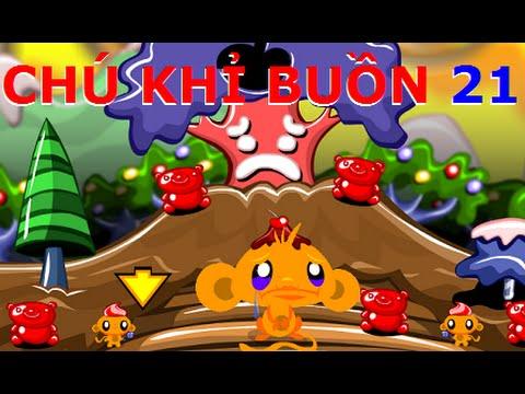 Chú khỉ buồn 21 - Video hướng dẫn chơi game