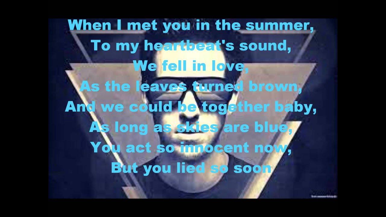 Calvin Harris - Summer Lyrics - YouTube