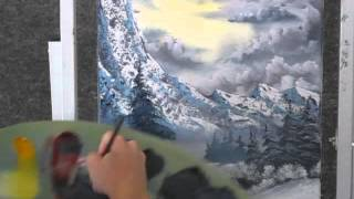 Paint With Kevin Hill Snow Covered Valley