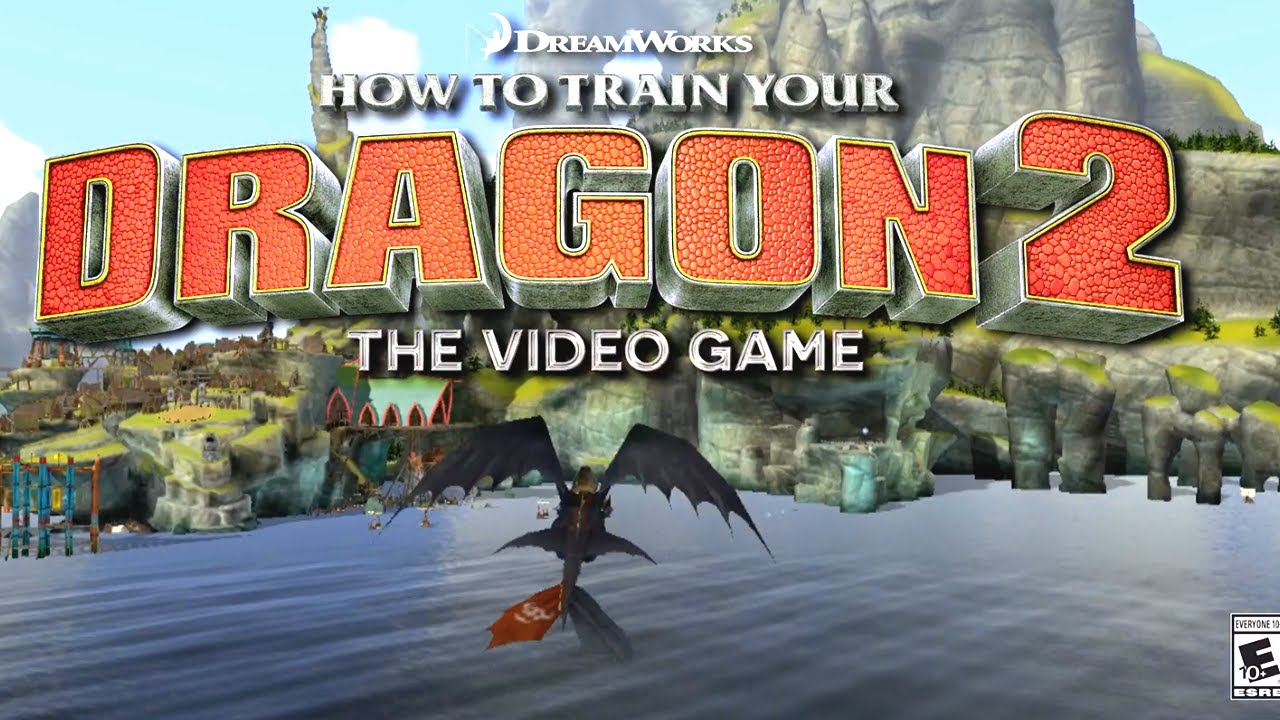how to train your dragon 2 3ds game