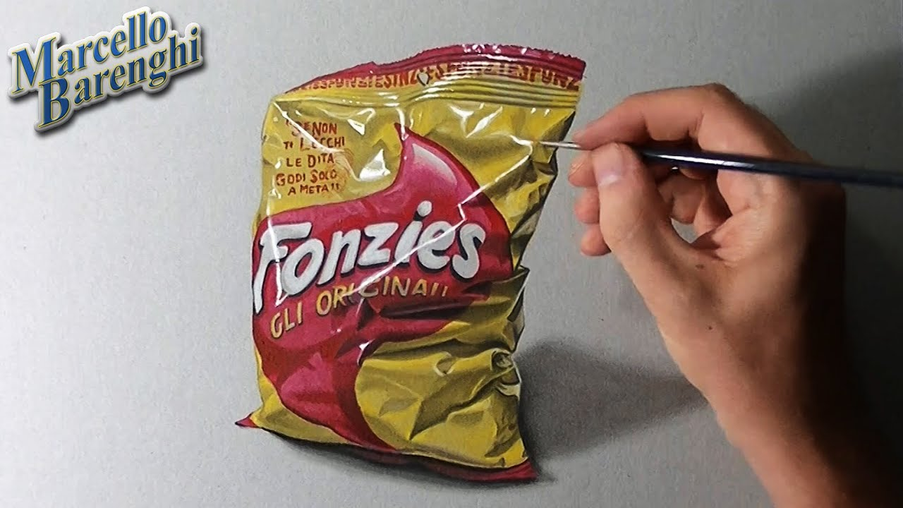 how to draw a chip