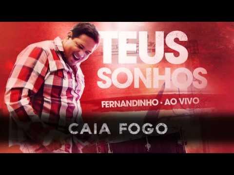 CD Fernandinho Teus Sonhos 2012 - Caia Fogo