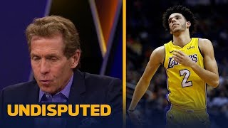 Skip Bayless reacts to Luke Walton benching Lonzo Ball against the Suns | UNDISPUTED