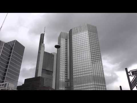 Eurotower und Commerzbank in Frankfurt am Main