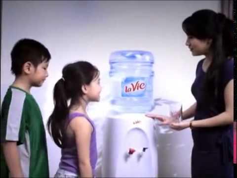 Quảng cáo nước khoáng La Vie