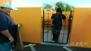 Criss Angel Walk Through Metal Gate