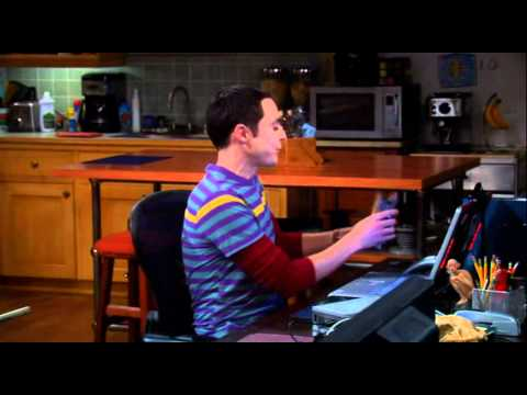 Big Bang Theory Season 3 Episode 4 Sheldon Linux Partition [HD]