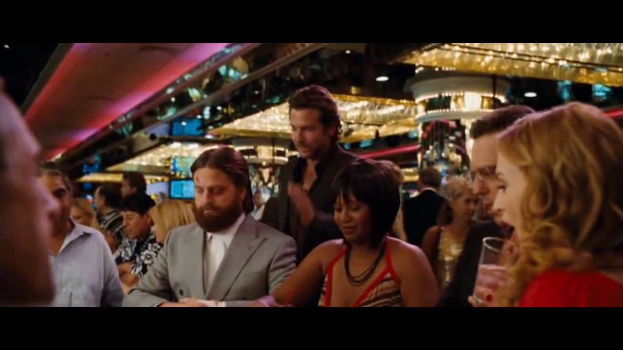 The hangover it's not gambling