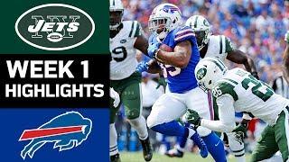 Jets vs. Bills   NFL Week 1 Game Highlights