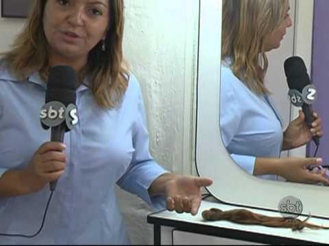 Inspirada em Chiquititas, menina de nove anos doa os cabelos