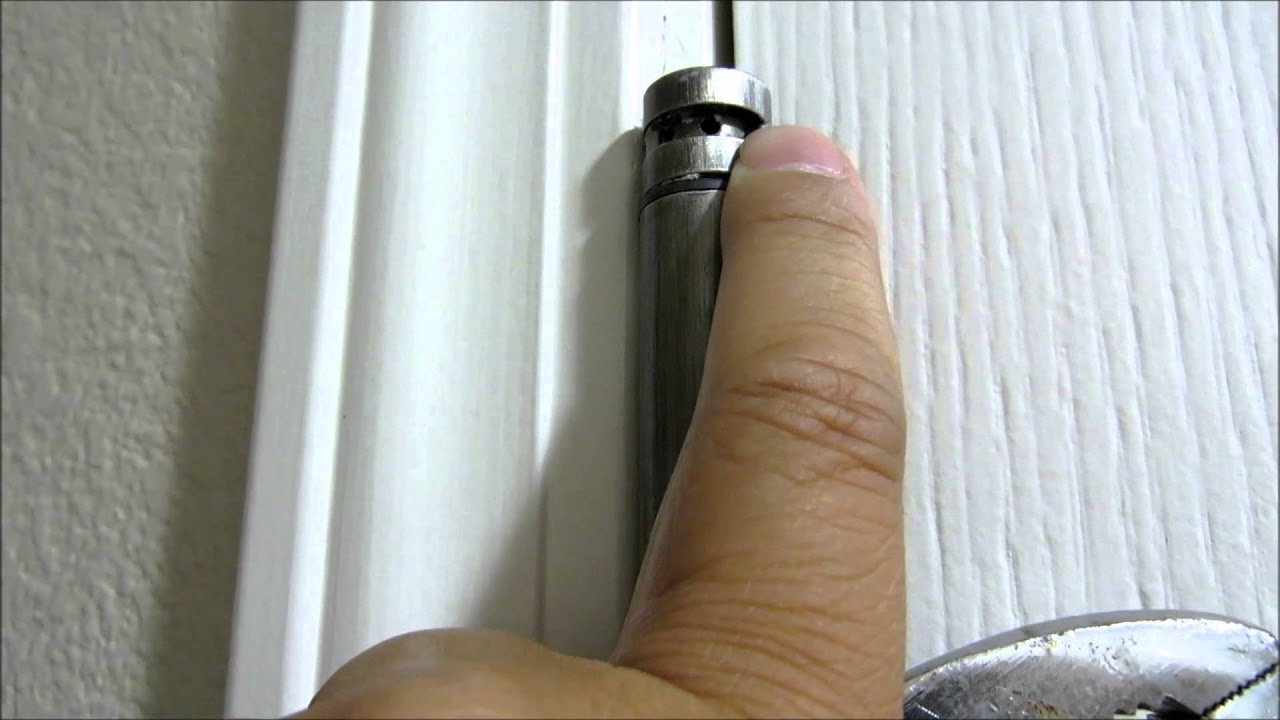 How To Adjust Self Closing Door Hinge Tension Youtube