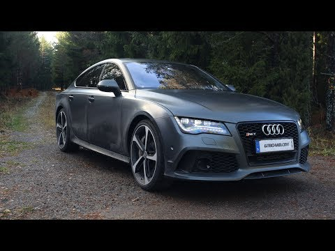 Ultra HD: Audi RS7 review in Ultra HD by GTboard.com - presented by Samsung