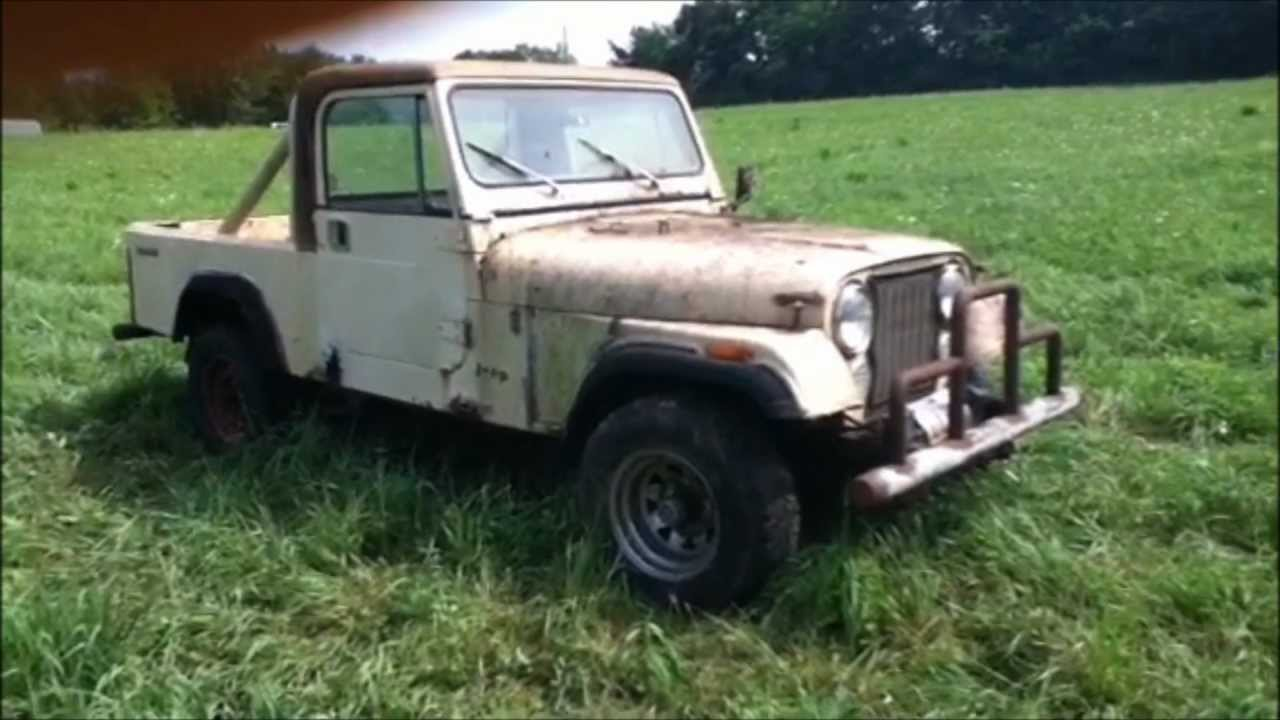 "1983 Jeep CJ8 Scrambler, ""Diamond in the Rough"" - YouTube"