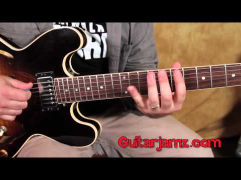Lead Guitar Solo Lesson - Major Scale Improvisation and Concepts with Major Pentatonic