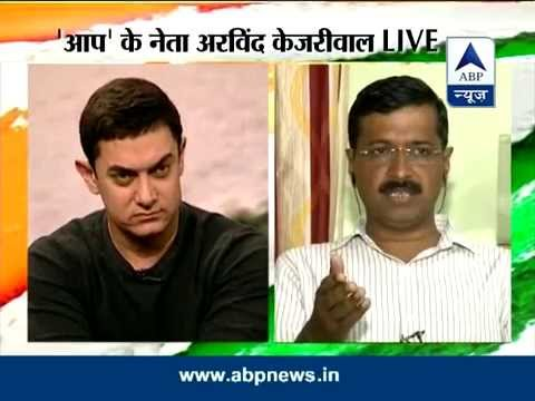 Asar: Aamir Khan in discussion with Arvind Kejriwal