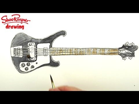 How to draw guitars PlayList