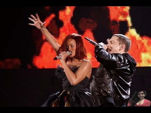 Eminem & Rihanna - The Monster - MTV Movie Awards 2014 Performance Concert Stage - Video Review