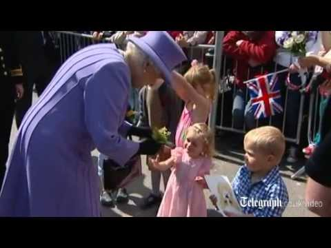 Queen and Prince Philip visit St Ives in Cornwall