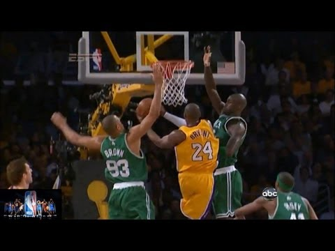 Kobe Bryant Offense Highlights 2008-2012 Playoffs