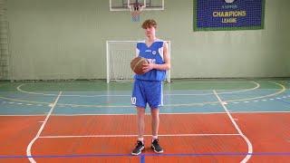 Вправи для відпрацювання техніки ведення м'яча у баскетболі