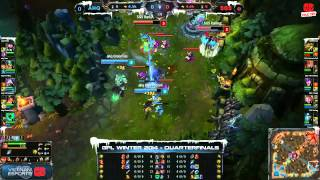 [GPL 2014 Mùa Đông] [Tứ Kết 3] [Game 1] AHQ e-Sports Club vs Singapore Sentinels [11.12.2013]