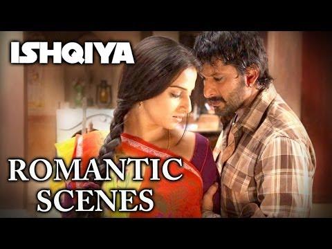 Romantic Scene's From Ishqiya - Arshad Warsi & Vidya Balan