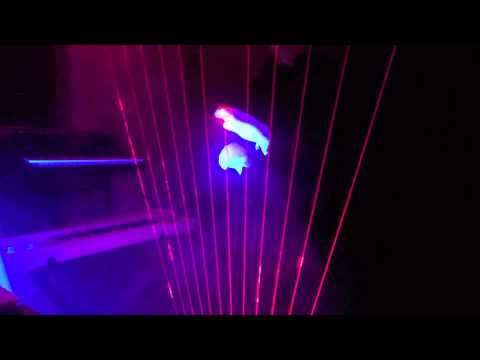 Silent Laser Harp Night