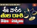 Libra Weekly Horoscope By Sankaramanchi    28 May 2017 - 03 June 2017    Bhakthi TV