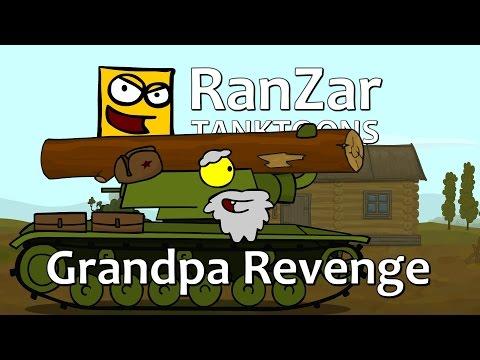 Tanktoon - pomsta dědečka