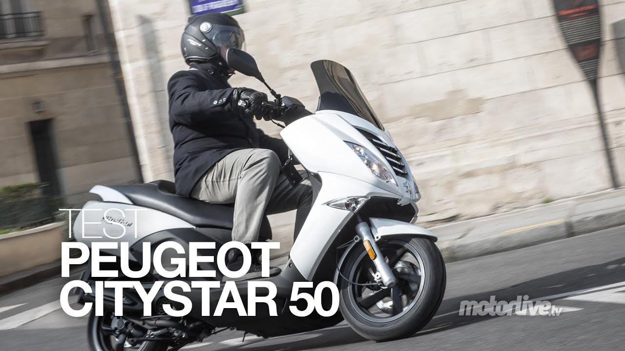 test peugeot citystar le gt du scooter 50 youtube. Black Bedroom Furniture Sets. Home Design Ideas