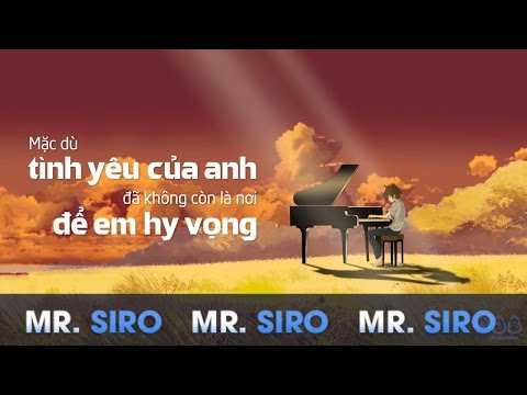 Tự Lau Nước Mắt - Mr Siro (Official Lyrics Video)