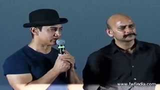 Dhoom 3 Trailer Launch Aamir Khan Abhishek Bachchan