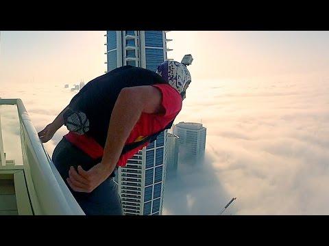 Leap of Faith | BASE Jump into Clouds