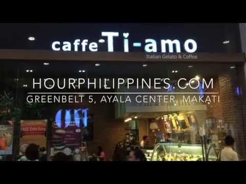 Caffe Ti-Amo Greenbelt 5 Ayala Center Makati by HourPhilippines.com