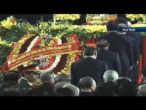 FULLChương trình lễ tang đại tướng Võ Nguyên Giáp video clip Hà Nội LIVE Bản gốc VTV VOV