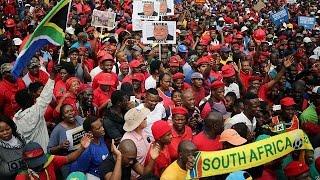 احتجاجات في جنوب افريقيا تطالب زوما بالاستقالة |